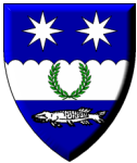 The Arms of The Shire of Frosted Hills